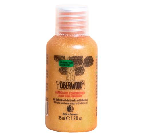 """Кондиціонер """"Сяйво кольору"""" Überwood для фарбованого та тьмяного волосся, міні-формат, 35 мл"""