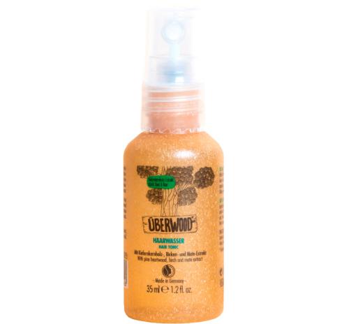 Тонік для волосся Überwood для сухої та схильної до лупи шкіри голови, міні-формат, 35 мл