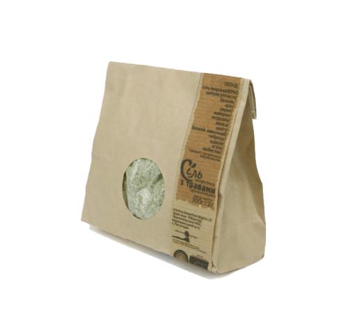 Сіль морська з органічними травами (пакет) Потутори, 300 г