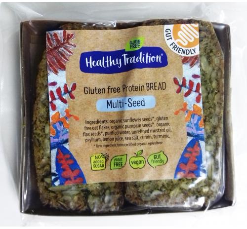 Хліб протеїновий зерновий безглютеновий Healthy Tradition, 200 г