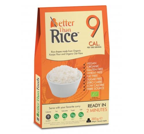 Макаронні вироби у формі гранул із борошна конняку Better Than Rice органічні, 385 г
