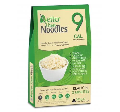 Локшина із борошна конняку Better Than Noodles органічна, 385 г