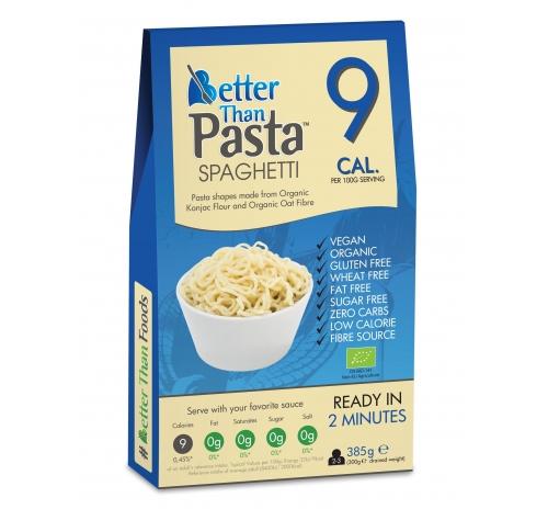 Спагеті із борошна конняку Better Than Pasta органічні, 385 г