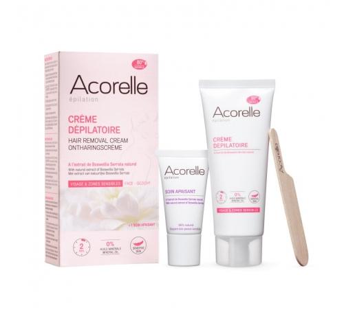 Крем для депіляції обличчя та делікатних зон Acorelle, 75 мл