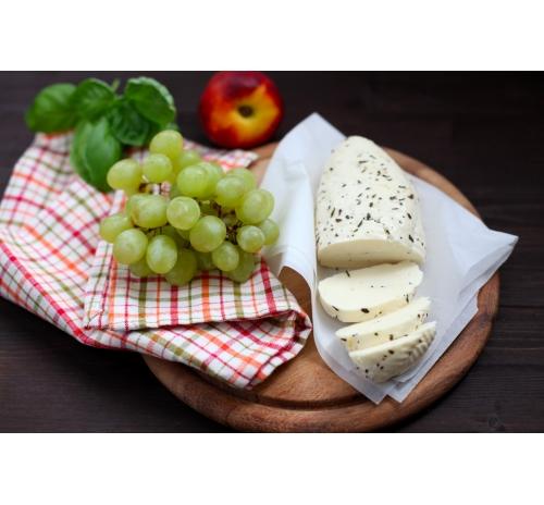 """Сир розсільний """"Халумі"""" органічний Старий Порицьк, кг"""
