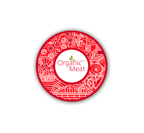 Телятина органічна бефстрогинов Organic Meat, кг