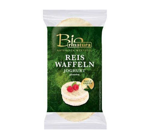Вафлі рисові в йогурті Rinatura, 100 г