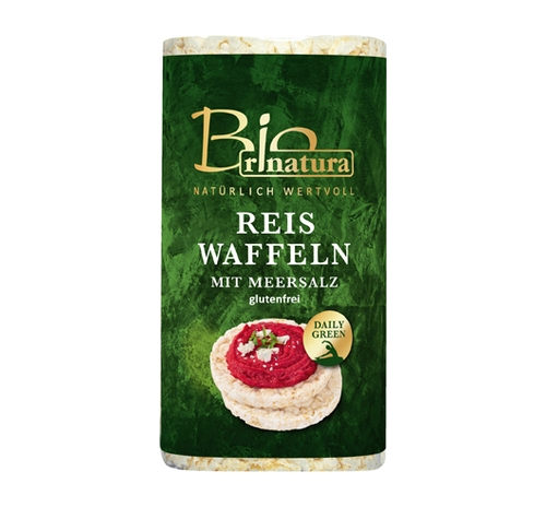 Рисові хлібці Rinatura без глютену органічні, 100 г