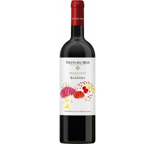 Вино червоне сухе Tenuta del Melo Barbera 2016 біодинамічне органічне 0,75 л