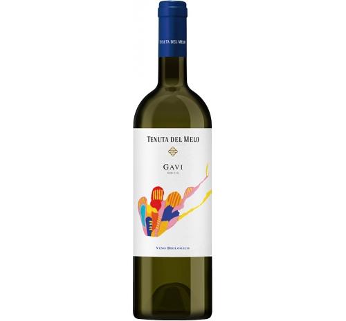 Вино біле сухе Tenuta del Melo Gavi 2016 біодинамічне органічне 0,75 л