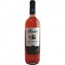 Вино рожеве сухе Macatela Garnacha органічне 0,75 л