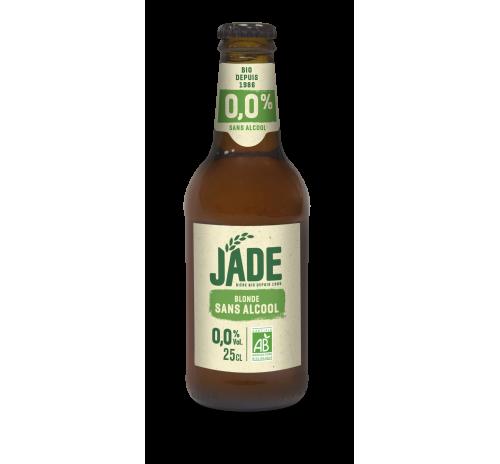 Пиво світле 0,25л безалкогольне органічне JADE