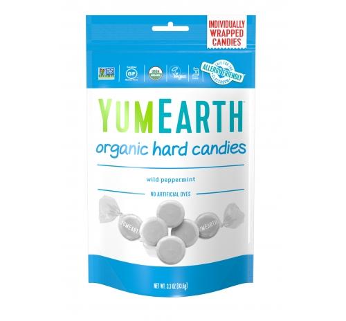 Льодяники дика м'ята 93,6г органічні YumEarth