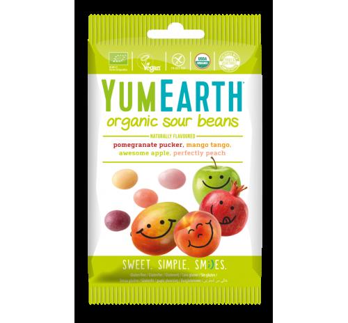 Цукерки жувальні фруктові з кислинкою 50 г органічні YumEarth