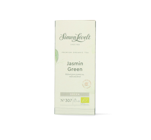 Чай зелений Jasmine Green Simon Lévelt органічний, 20 пакетиків